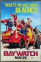 Baywatch (2017) Original Movie One Sheet Poster (27x40) Directed by Seth Gordon DWAYNE JOHNSON ZAC EFRON PRIYANKA CHOPRA