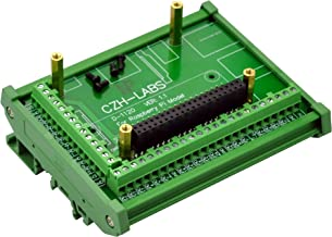 Electronics-Salon DIN Rail Mount Screw Terminal Block Adapter Module, for Raspberry Pi 1 Model A+,1 B+, 2 B, 3 B, 3 B+, 3 A+, ZERO, ZERO W.