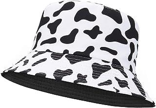Century Star Bucket Hats for Women Teens Summer Sun Men Caps Reversible Outdoor Travel Beach Fishing Packable Cotton Hat