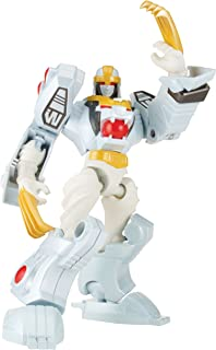 Power Rangers Dino Charge - Mixx N Morph Mighty Morphin White Ranger and Tiger Zord Action Figure