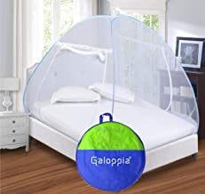 GALOPPIA Foldable Single Bed Mosquito Net (Blue)