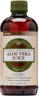 Natural Brand Aloe Vera Juice, Unflavored, 32 fl. oz, Supports Digestive Health