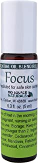 Focus Essential Oil Blend Roll On 9 ml / 0.3 oz - Energy Balancing - Therapeutic Quality