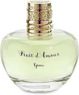 Emanuel Ungaro Fruit D'amour Green Women's Eau de Toilette Spray, 3.4 Ounce