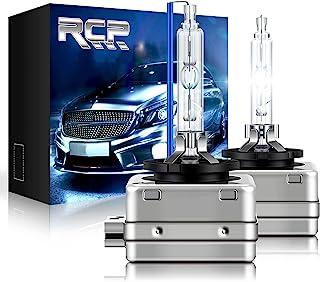 RCP - D1S8 - (A Pair) D1S/ D1R 8000K Xenon HID Replacement Bulb Ice Blue Metal Stents Base Car Headlight Lamps Head Lights...