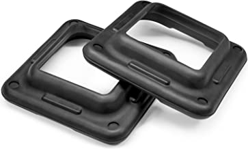 Yes4All Adjustable Aerobic Step Risers (Sold in Pair) – Health Club Size & Multi Color Available – Support up to 300 lbs