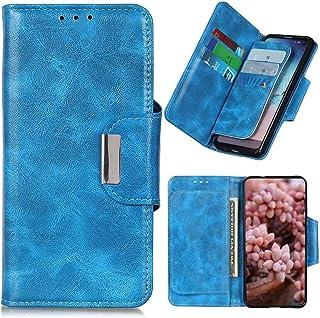 Dalchen Compatible for Case Vivo Y51S, 6 Card Slots 1 Cash Pockets Wallet Cover, Leather Flip Magnetic Button Kickstand Ph...