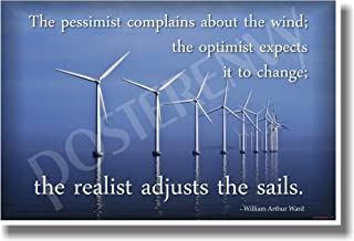 the pessimist complains about the wind