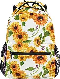 Mermaid Scale Backpacks for Kid Girls, Rainbow Marble Galaxy Laptop Backpack