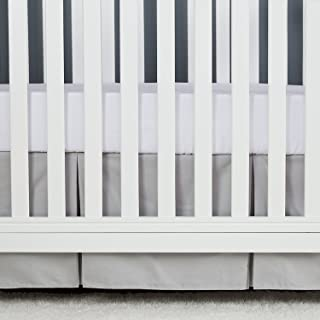 pleated crib skirt