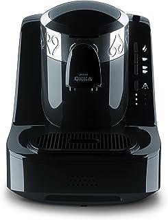 Arzum Okka Automatic Turkish/Greek Coffee Machine, USA 120V UL, Black/Chrome