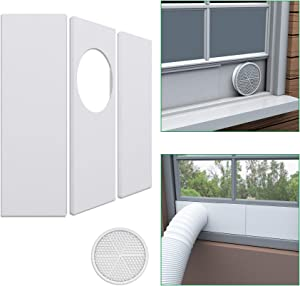 Forestchill Portable Air Conditioner Window Seal Plates Kit for 5.9