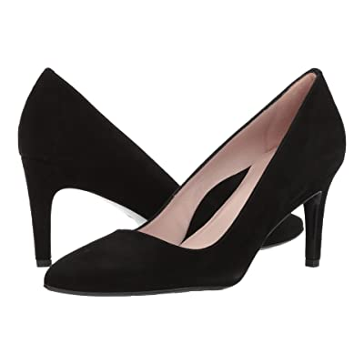 Taryn Rose Gabriela by Taryn Rose Collection (Black Suede) High Heels