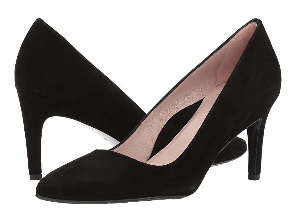 Taryn Rose Gabriela by Taryn Rose Collection (Black Suede) High Heels