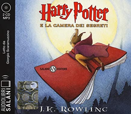 Harry Potter e la camera dei segreti letto da Giorgio Scaramuzzino. Audiolibro. 2 CD Audio formato MP3. Ediz. integrale (Italian Edition)