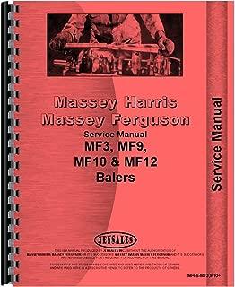 New Massey Ferguson 10 Baler Service Manual