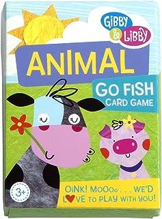 C.R. Gibson Animal Go Fish Card Game