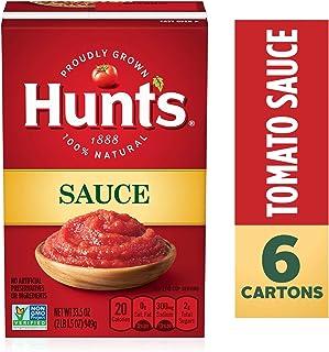 Hunt's Tomato Sauce, Keto Friendly, 33.5 oz, 6 Pack