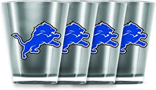 detroit lions shot glass