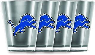 detroit lions shot glass
