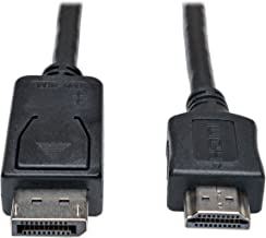 Tripp Lite DisplayPort to HDMI Cable Adapter, DP to HDMI (M/M), 1080p, 20 ft. (P582-020)