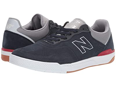 New Balance Numeric 913 (Navy/Red) Skate Shoes