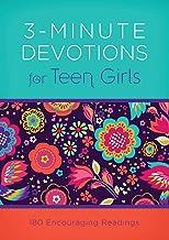 3-Minute Devotions for Teen Girls: 180 Encouraging Readings PDF