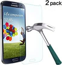 Sponsored Ad - TANTEK Tempered Glass Screen Protector for Samsung Galaxy S4-2 Pack