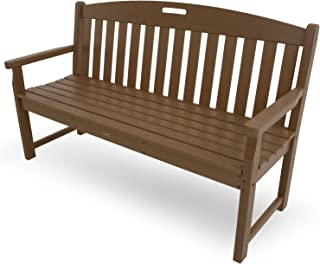 Trex Outdoor Furniture TXB60TH 60-Inch Yacht Club Bench, Tree House