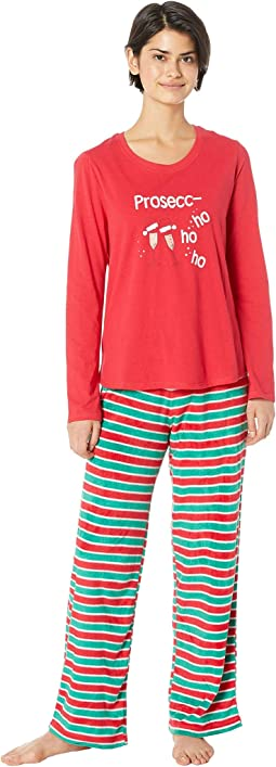 Drink Up Grinches Family Long Sleeve PJ Set
