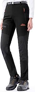 Pantalon Montaña Mujer Secado Rápido Impermeable Pantalones Trekking Escalada Senderismo Acampada Transpirables y Ligeros
