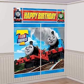 Thomas the Tank Engine Scene Setter Photo Background Poster 5 count Birthday