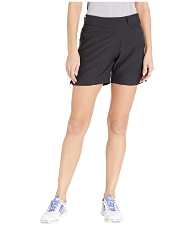 adidas Golf Club 5 Solid Shorts (Black) Women