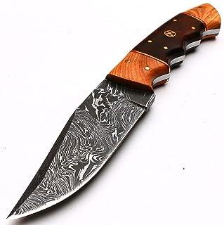 PAL 2000 - Cuchillos de cocina de acero Damasco de Damasco de 4,4 pulgadas aprox. Cuchillo de chef de acero de Damasco – el mejor cuchillo de cocina hecho a mano con vaina, compra con confianza 8998