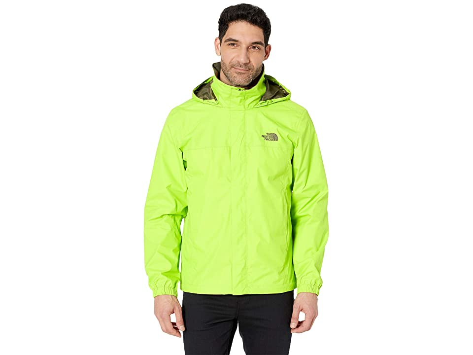 The North Face Resolve 2 Jacket (Lime Green/New Taupe Green) Men