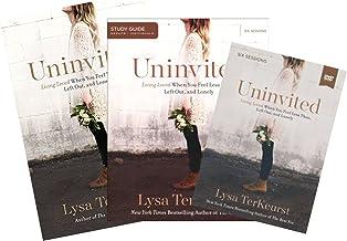 Lysa Terkeurst - Uninvited FULL SET (Book + DVD + Study Guide)