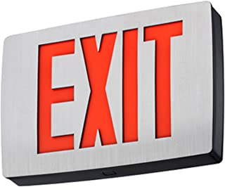Lithonia Lighting Edgrny 2 R M4 Edge-lit LED Exit Sign Red for sale online