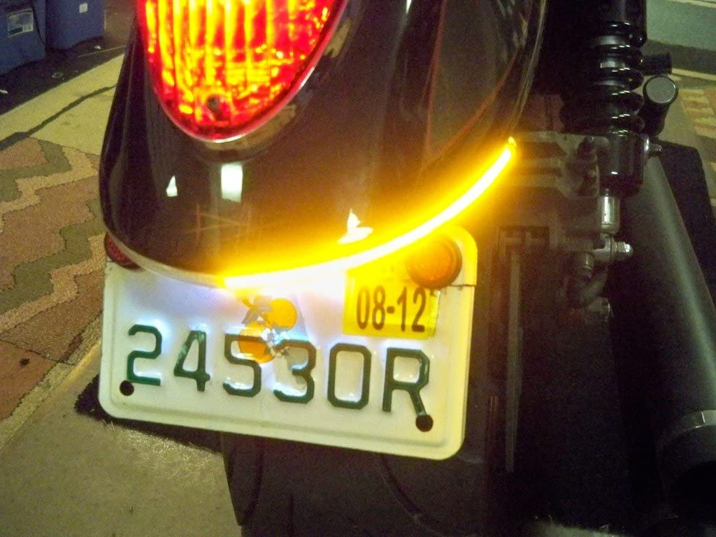 Fender Eliminator Integrated LED Taillight Tag Light Kit with an Popular standard Quantity limited