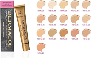 Dermacol Make-up Cover - Waterproof Hypoallergenic Foundation 30g 100% Original Guaranteed (227)