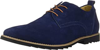 iLoveSIA Men's Classic Dress Oxford Suede Leather Shoe Black