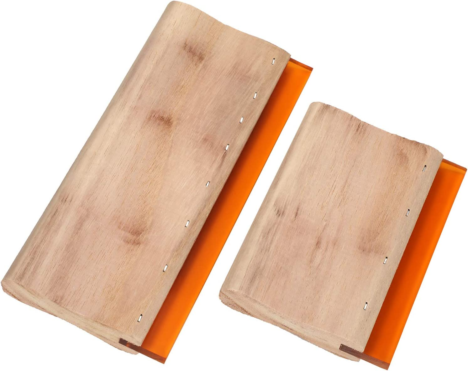 100% Ranking TOP17 quality warranty Screen Printing Squeegee Wood Prin Scraper for Ink