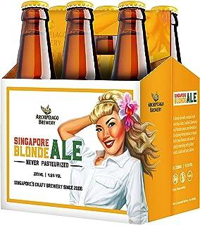 Archipelago Brewery Singapore Blonde Ale Craft Beer Bottle, 6 x 330ml