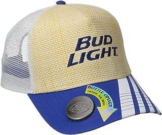 bud light hat with bottle opener