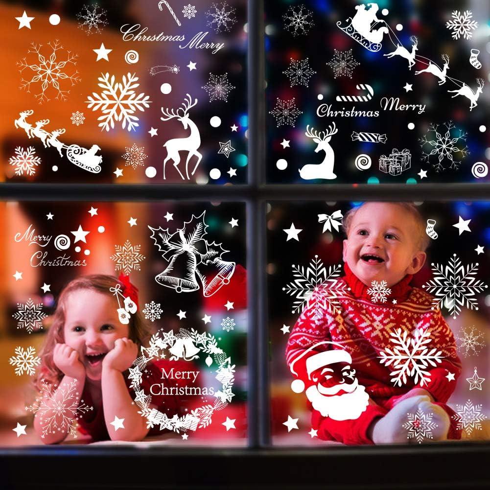 AIZESI PCS Halloween Window Sticker Halloween Window Clings Decals for Window Glass Decorations Halloween Window Clings Decorations