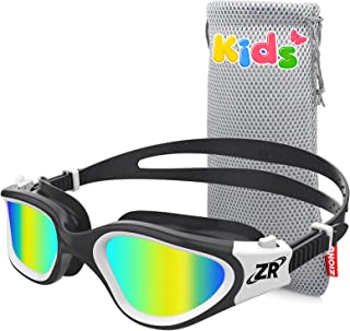 ZIONOR Kids Swim Goggles, Polarized Swimming Goggles for Girls and Boys