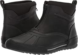 Black Waterproof Leather
