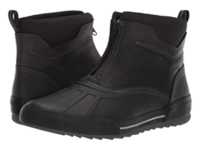 Clarks Bowman Top (Black Waterproof Leather) Men