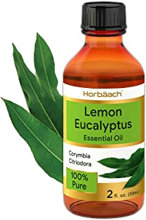 Lemon Eucalyptus Essential Oil | 2 oz | 100% Pure | Natural, Undiluted | GC/MS Tested | by Horbaach