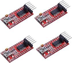Best 4pcs 3.3V 5V FT232RL USB to TTL Serial Converter Adapter Module for Arduino Review