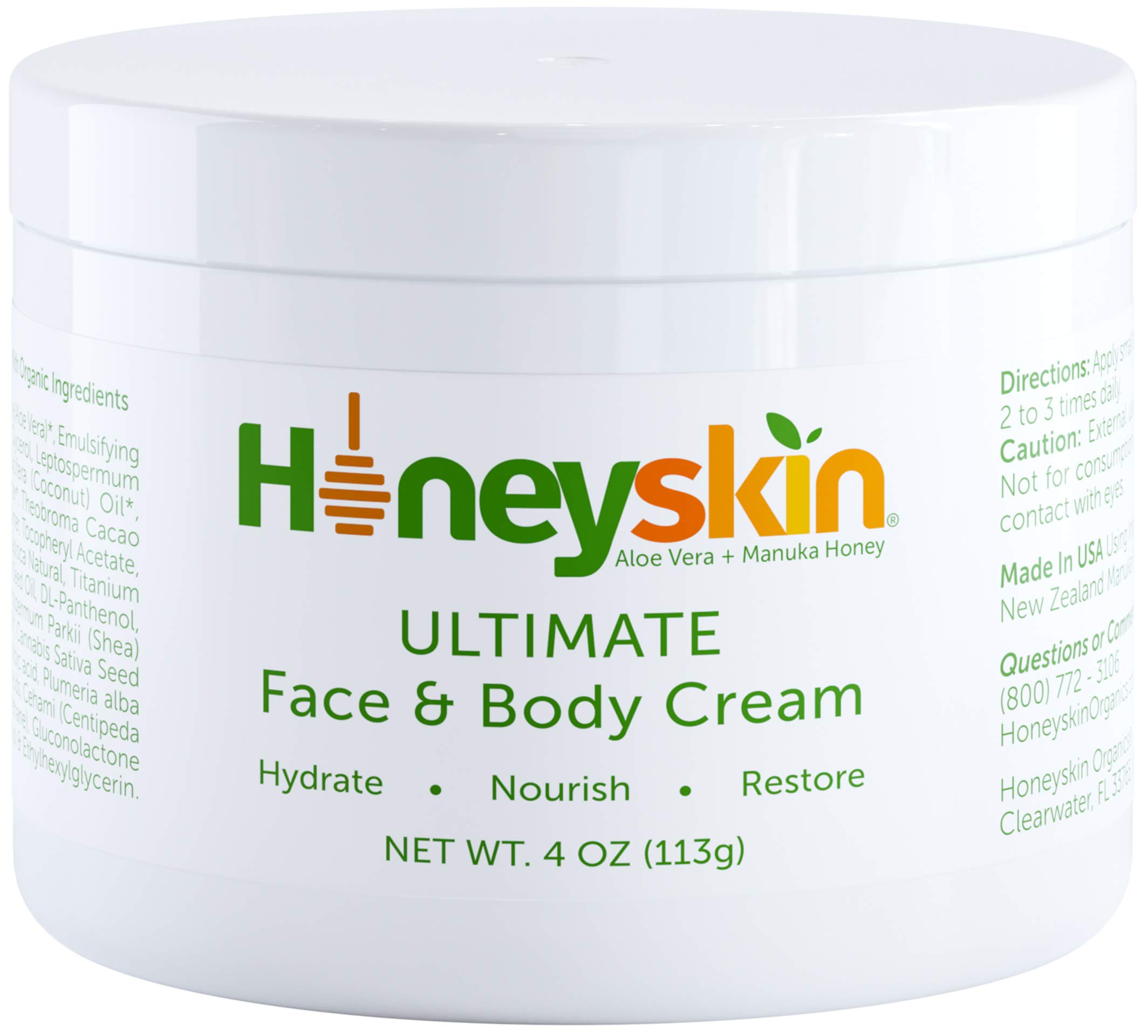 Face Body Cream Moisturizer Nourishing